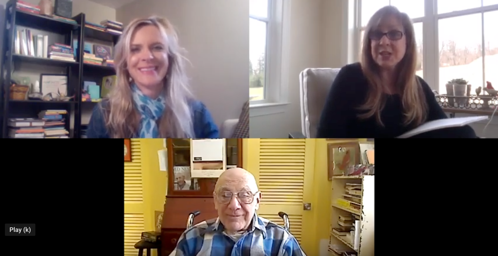 Dr Bernie Siegel and Kerry Hardy deliver a healing message: Listen to your heart